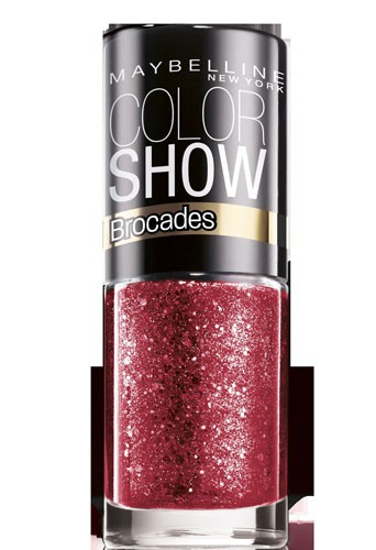 Coup de coeur : Vernis à ongles rouge, Collection Brocades, Color Show, Gemey-Maybelline, 3,80 €