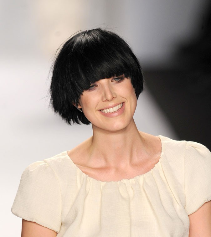 Star brune : les cheveux colorés d'Agyness Deyn