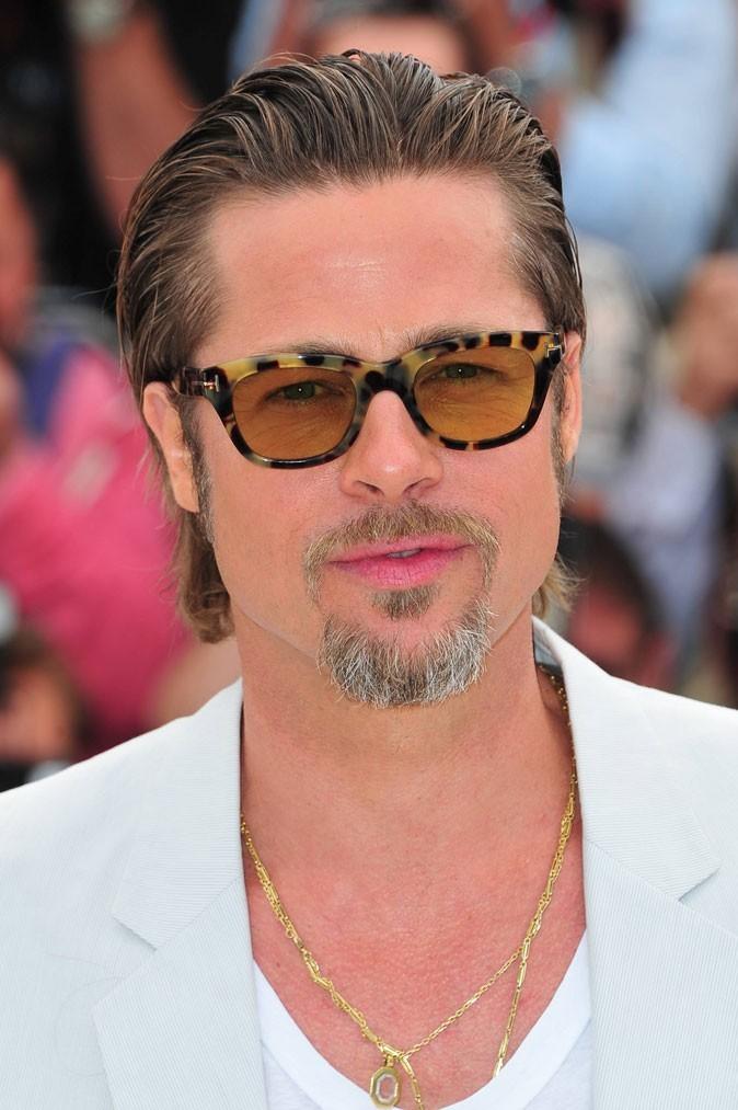 Barbe de Brad Pitt :  le bouc grisonnant en 2011