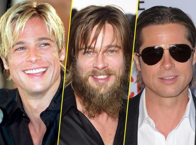 Coiffure de Brad Pitt : l'évolution de ses coupes de cheveux et de sa barbe depuis 20 ans !