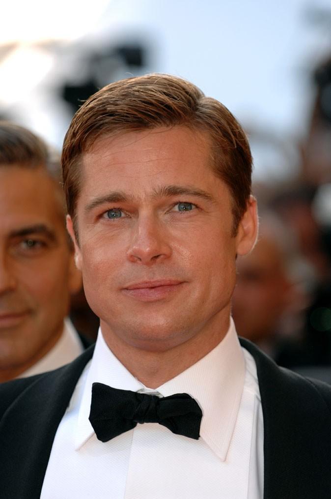 Coiffure de Brad Pitt : le wet look en 2007