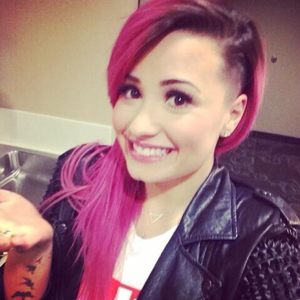 Demi Lovato aujourd'hui, sa dernière coupe en date