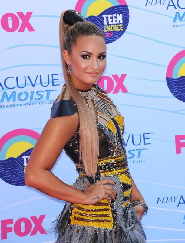 Demi Lovato en juillet 2012