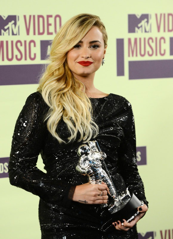 Demi Lovato en septembre 2012