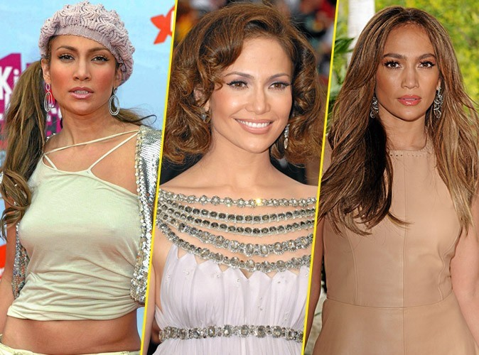 Coiffure de star : le CV capillaire de Jennifer Lopez !
