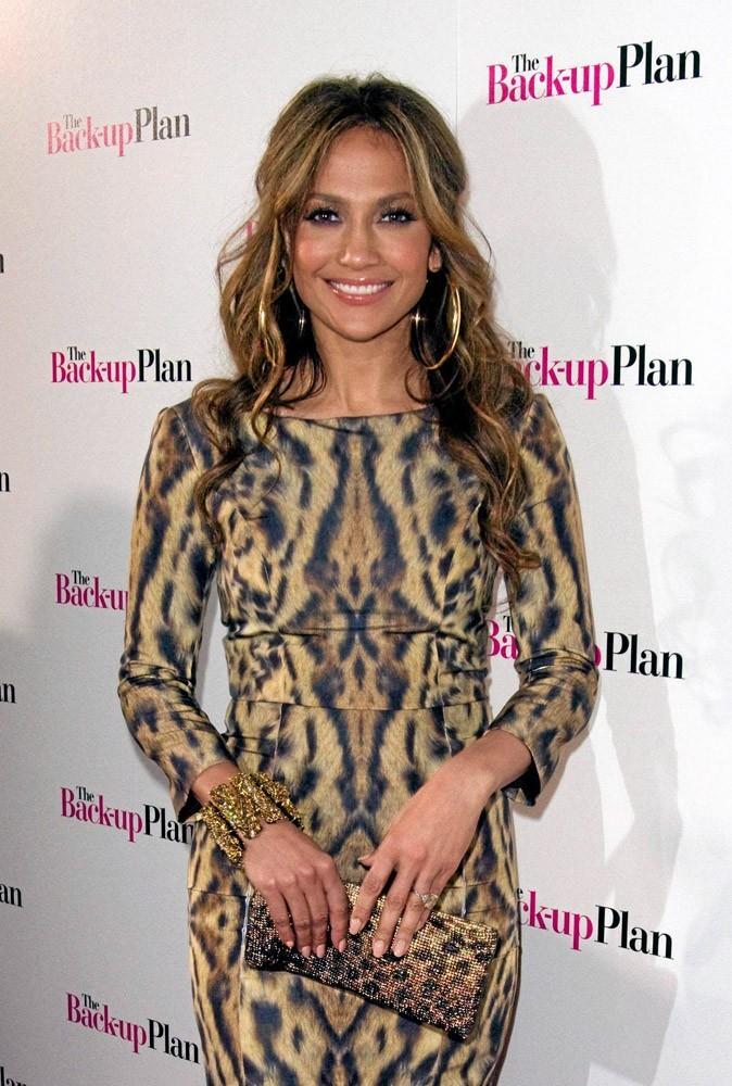 Coiffure de star : les mèches blondes de Jennifer Lopez en 2010 !