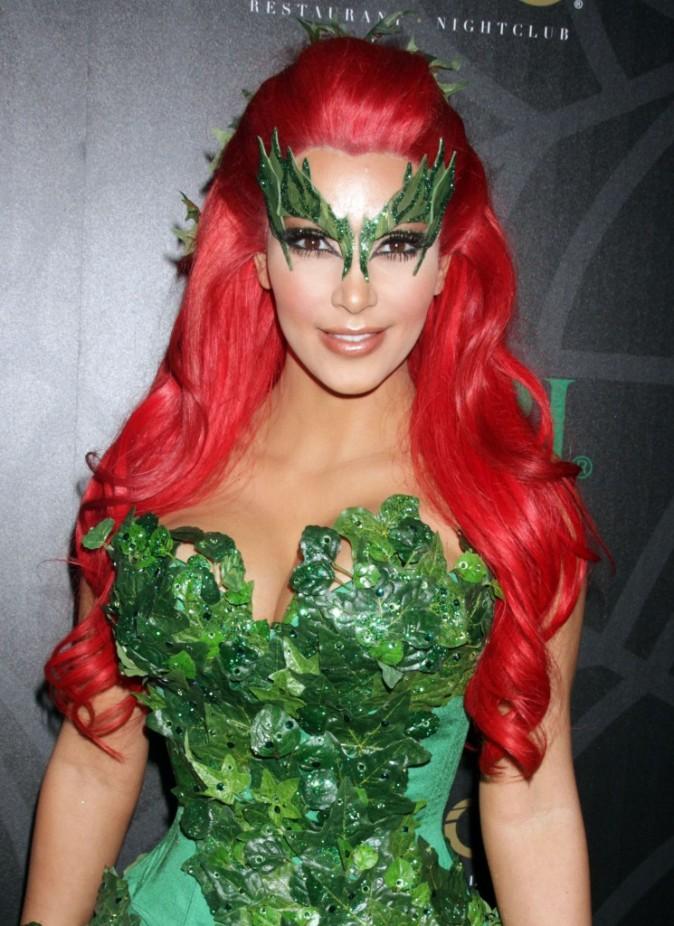 Octobre 2011 : une chevelure écarlate à la Poison Ivy