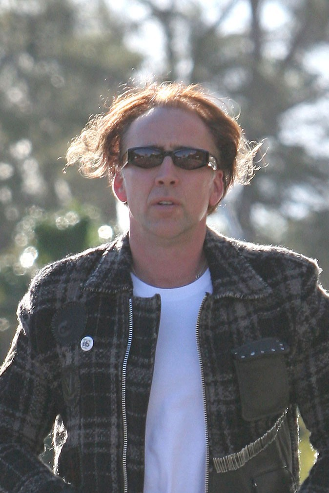 Coiffure de star : la mèche de Nicolas Cage