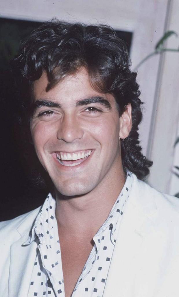 Coiffure de star : les cheveux bouclés de George Clooney