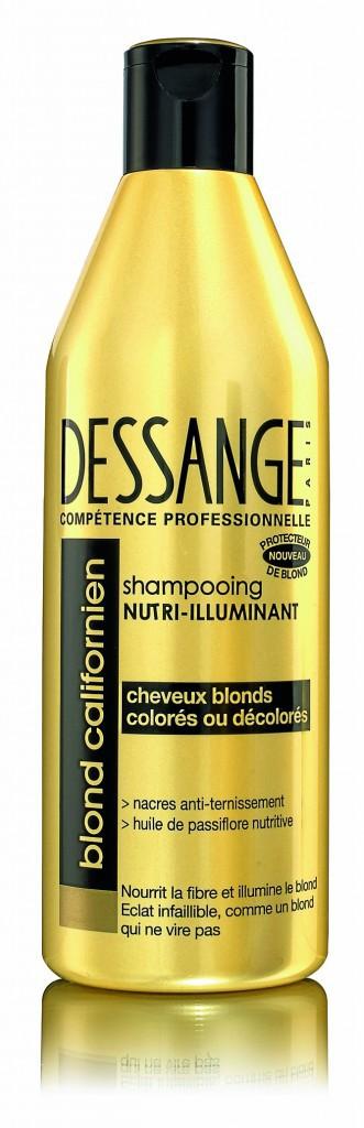 Shampooing Nutri-illuminant, blond californien, Dessange 4,10 €