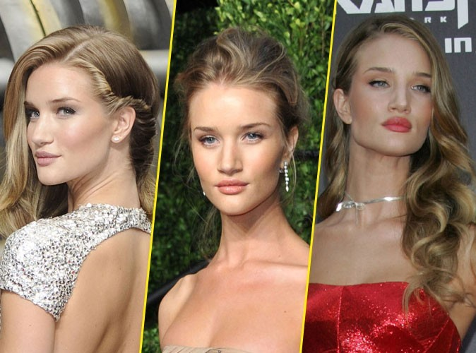 Coiffure et maquillage de Rosie Huntington-Whiteley : tous les beauty looks de la bombe de Transformers 3 !
