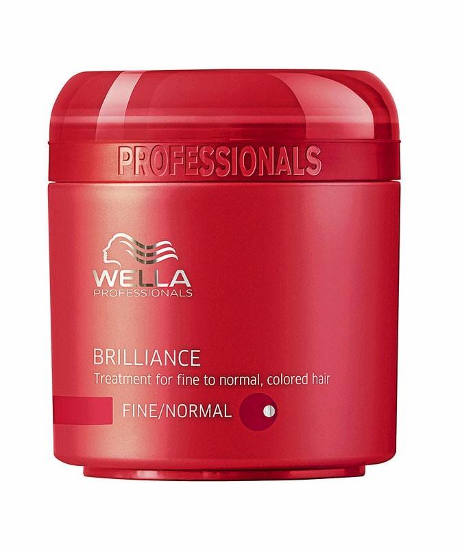 Le masque Brilliance pour cheveux colorés Wella pour un néo carré coloré parfait !