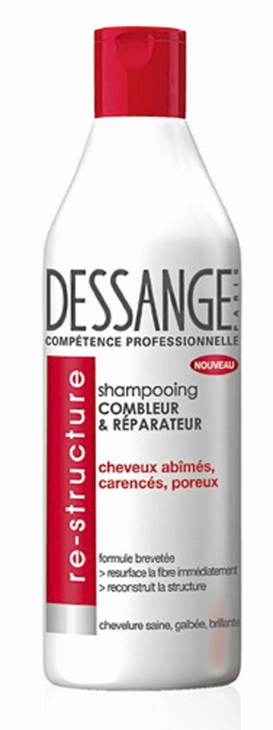 Le shampooing Combleur & Réparateur Dessange pour un néo carré parfait !