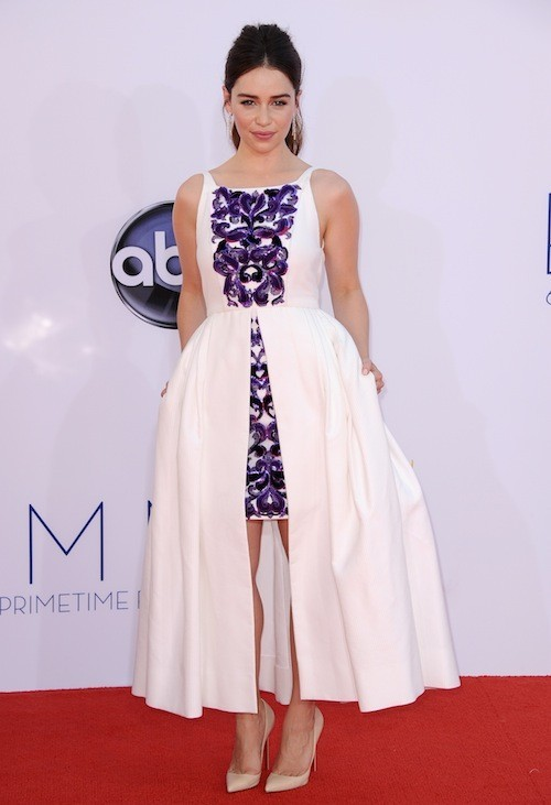 Emilia Clarke le 24 septembre 2012 !