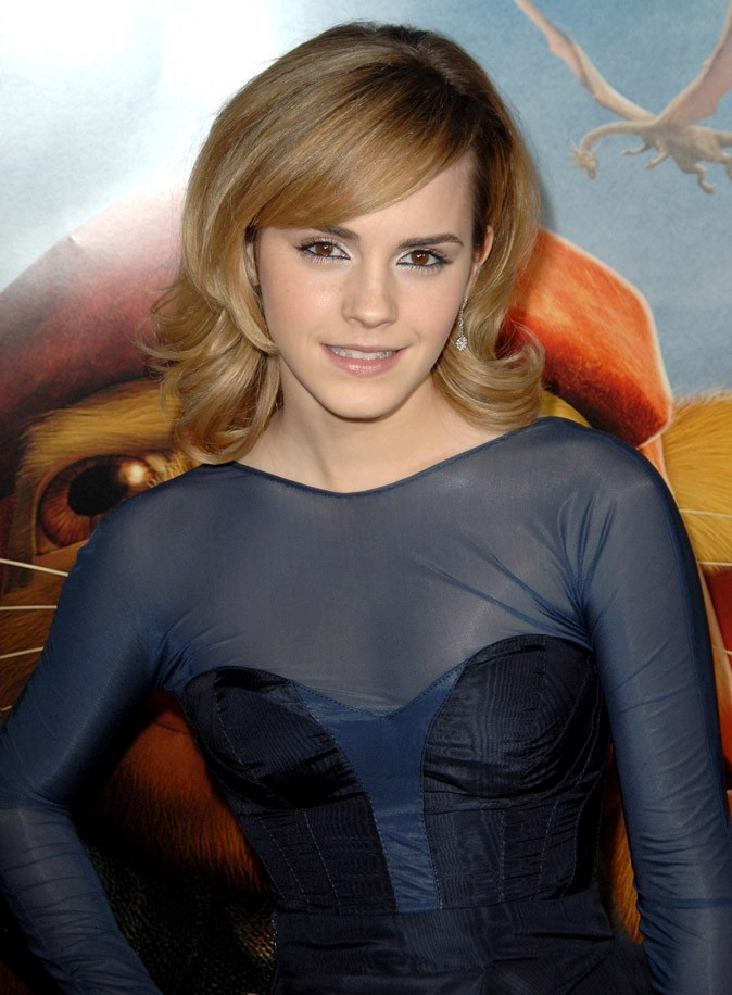 Le brushing gonflé d'Emma Watson en Décembre 2008 !