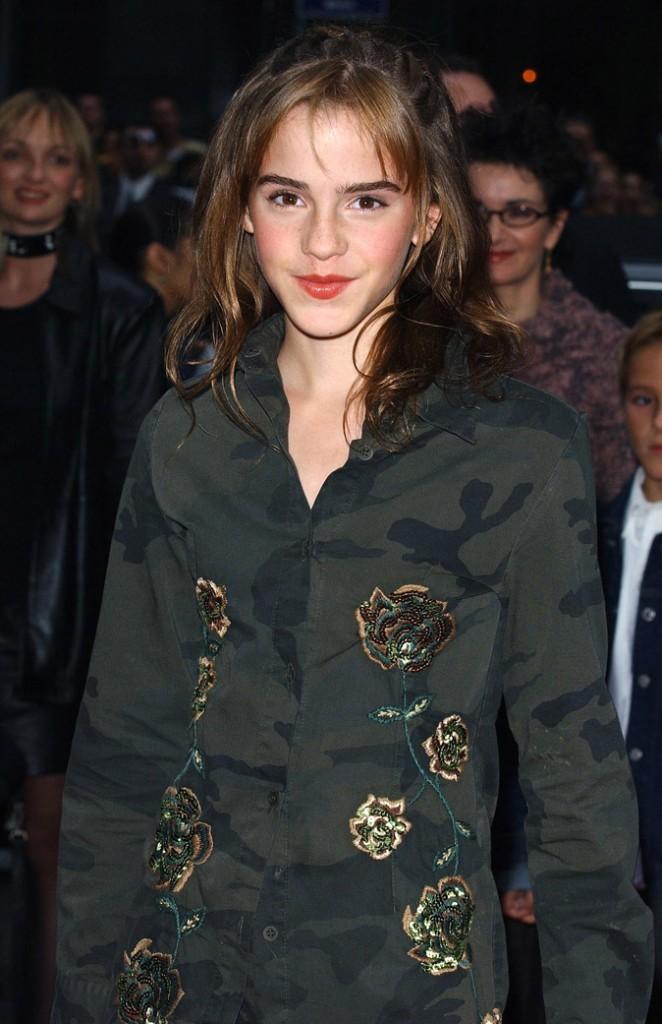 Les mèches d'Emma Watson en Octobre 2002 !