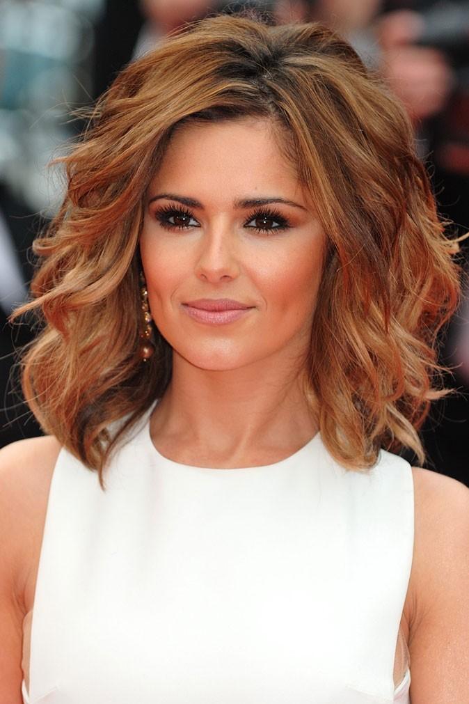 Coiffure de Cheryl Cole en mai 2010 : une couleur caramel doré pour Cannes
