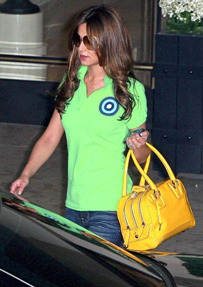 Cheryl Cole en Juillet 2009 : des longueurs bouclées !