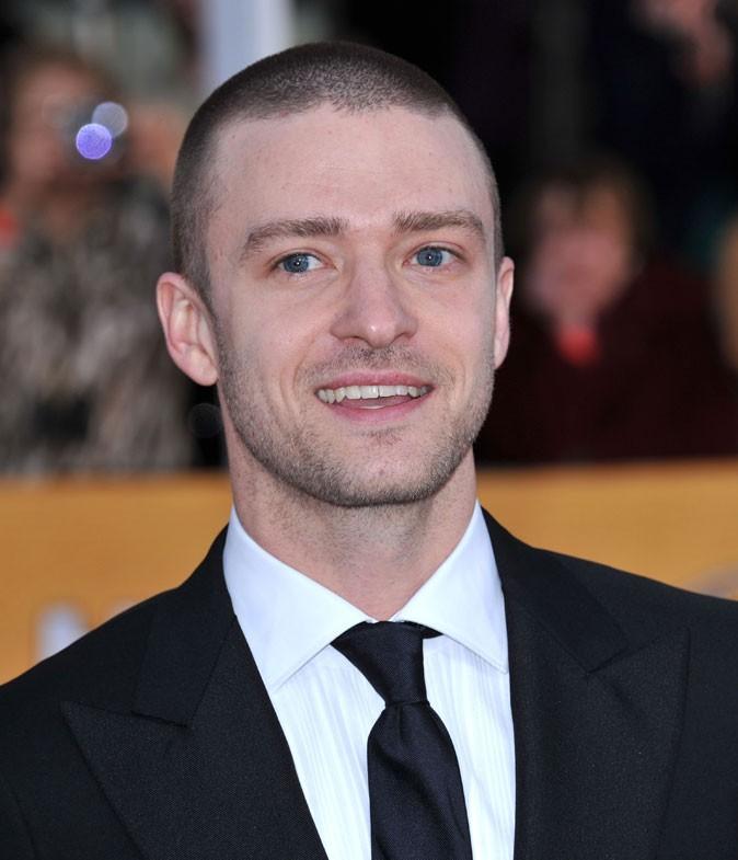 Coiffure de Justin Timberlake en 2011 : repasse par la case cheveux ras