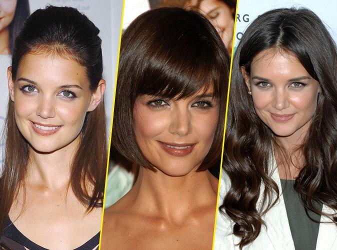 Coiffures de Katie Holmes : la femme de Tom Cruise est toujours au top, depuis 10 ans !