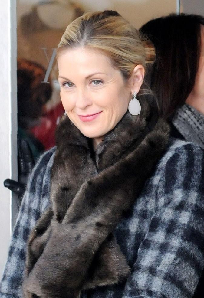 Coiffures de Kelly Rutherford : un chignon bas chic dans Gossip Girl !