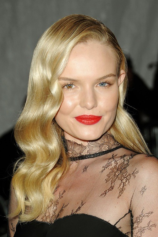 Kate Bosworth et ses ondulations 50's