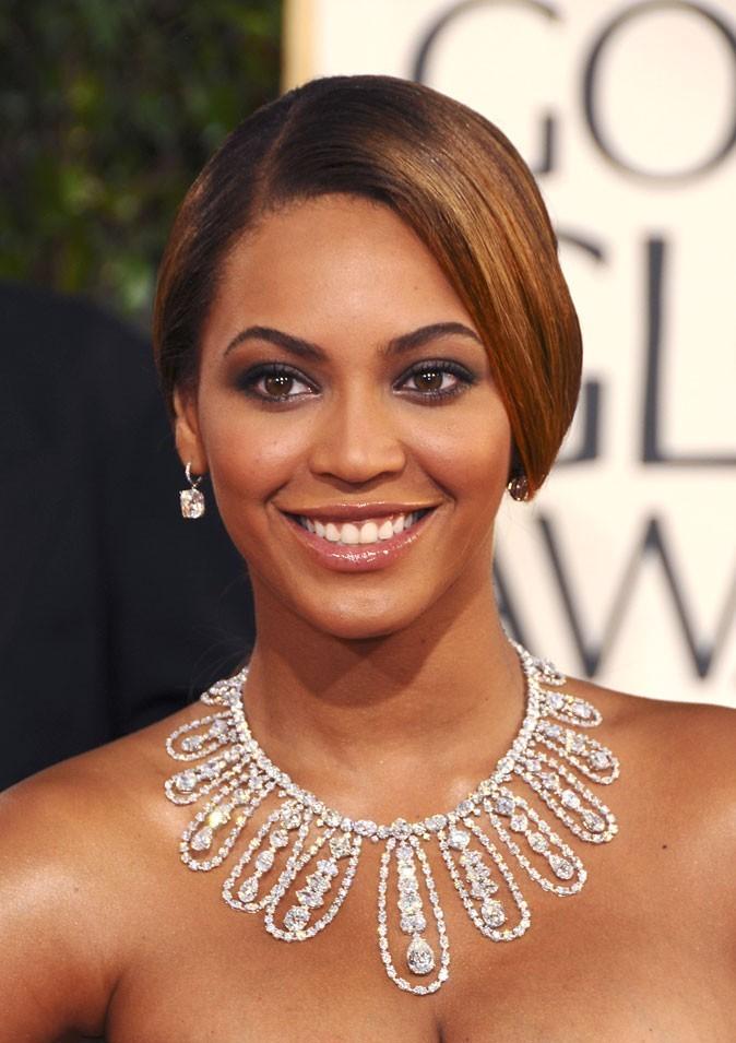 La mèche rétro de Beyoncé en Janvier 2009 !