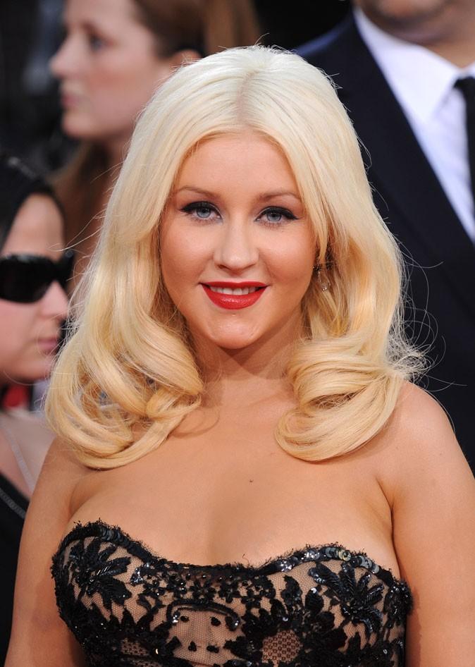 Christina Aguilera sans frange