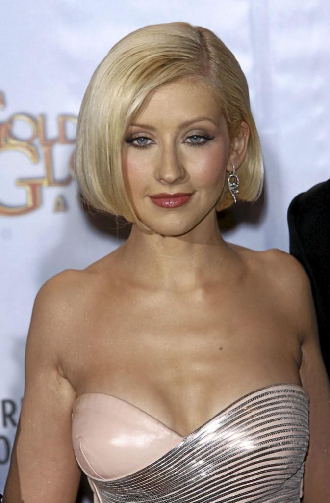 Christina Aguilera : cheveux naturels...