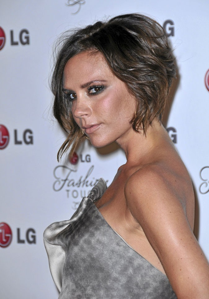 Victoria Beckham : cheveux naturels...