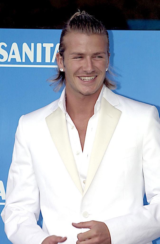 David Beckham en 2003 : s'est-il fait refaire les dents ?