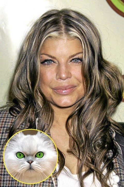 Fergie : le truc qui les fait tous tomber ? Son regard persan !