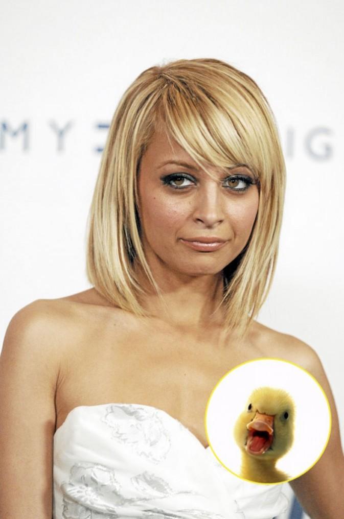 Nicole Richie : une moue qui ne casse pas trois pattes à un canard ...