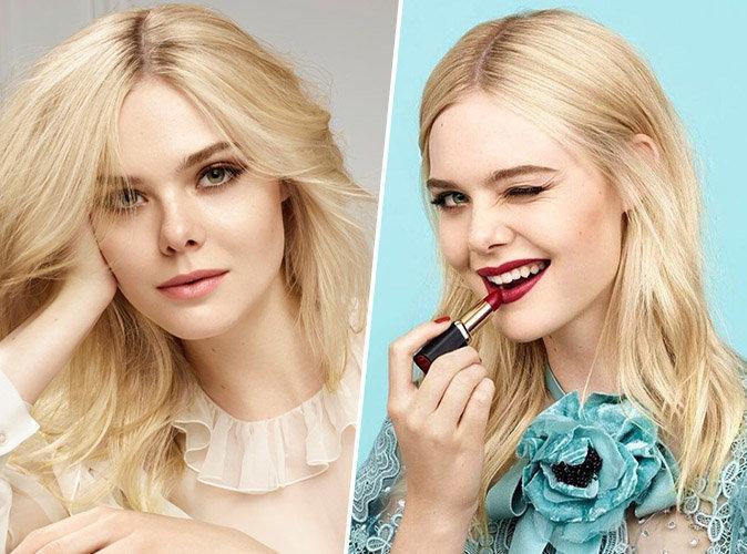 Elle Fanning est le nouveau visage de L'Oréal Paris