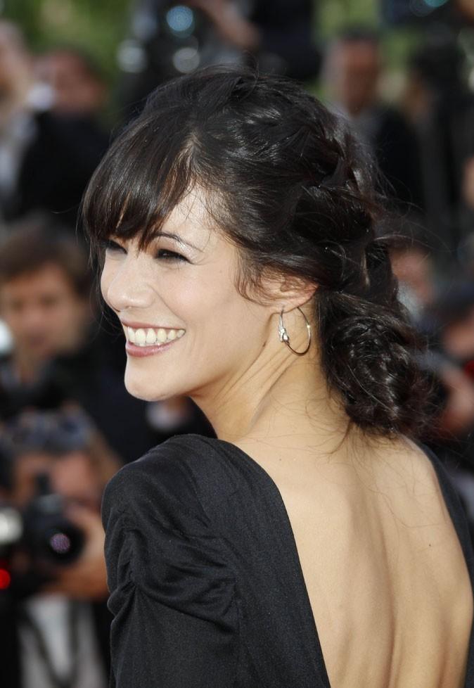 Coiffure de star au Festival de Cannes 2011 : le chignon bas de Mélanie Doutey