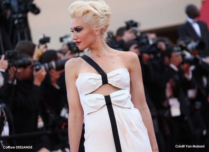 Coiffure de star au Festival de Cannes 2011 : le chignon gonflé de Gwen Stefani