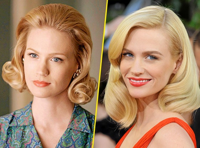 Les secrets de beauté de Betty Draper alias January Jones