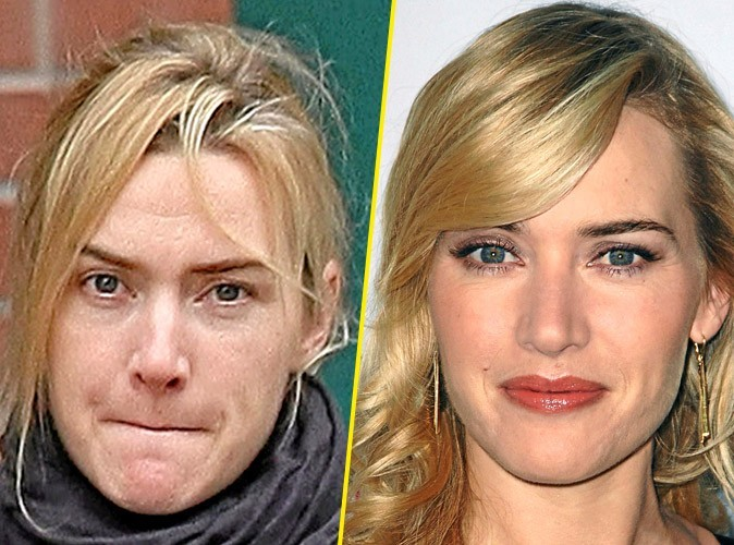 Star sans maquillage : Kate Winslet