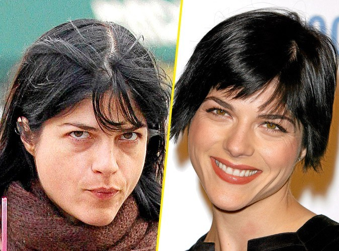 Star sans maquillage : Selma Blair
