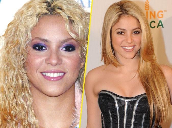 Shakira remercie le fer à lisser...