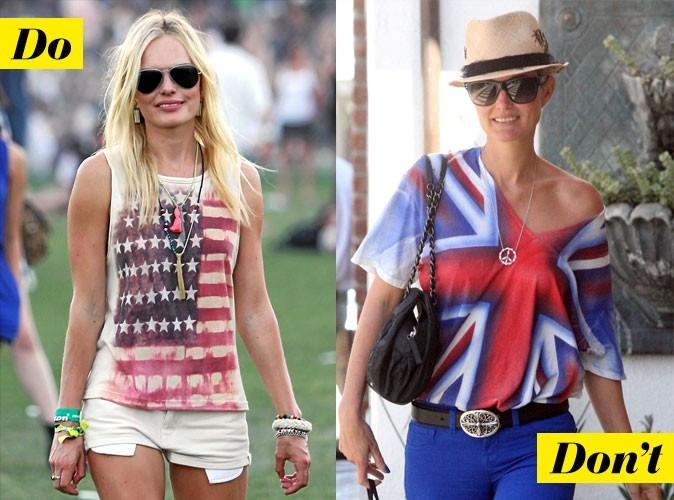 Look de star été 2011 : mode d'emploi du top drapeau !