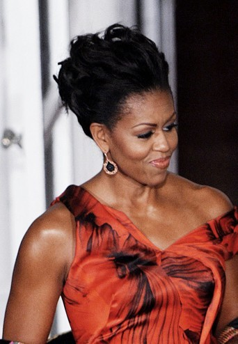 Michelle Obama en janvier 2011.