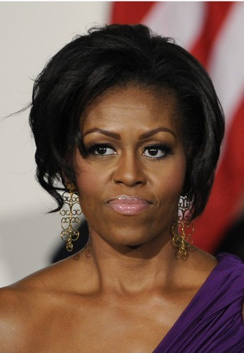 Michelle Obama en octobre 2011.
