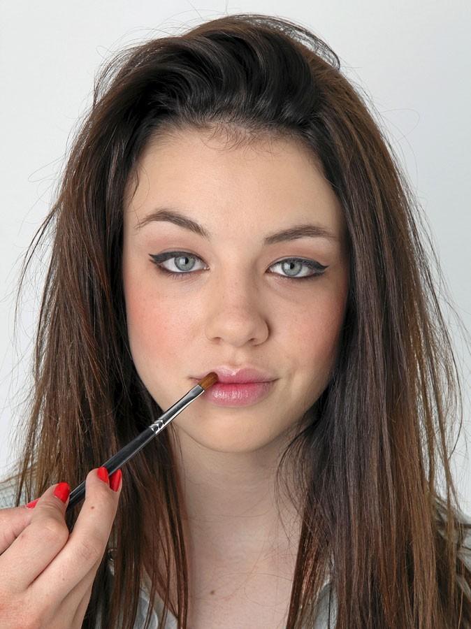 Maquillage d'AnnaLynne McCord : mode d'emploi du gloss