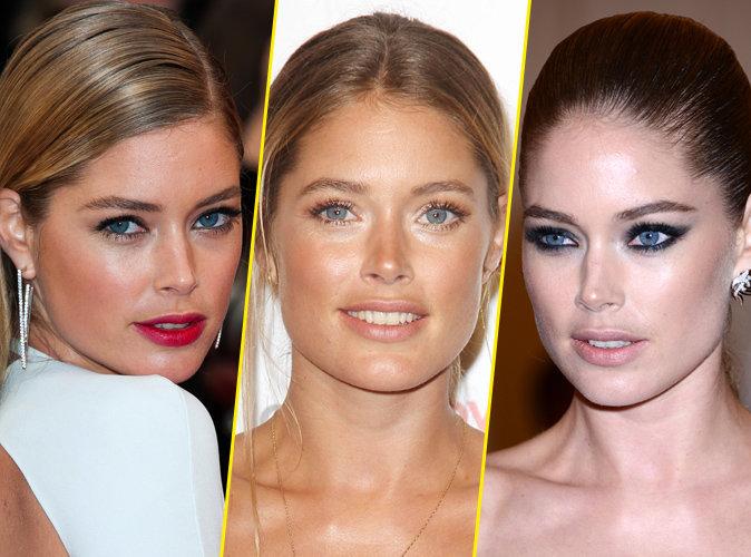 Maquillage : Doutzen Kroes : La bombe aux yeux azur fête ses 32 ans ! Zoom sur ses plus beaux make-up !