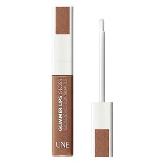 Maquillage été 2011 : testez le gloss marron brillant