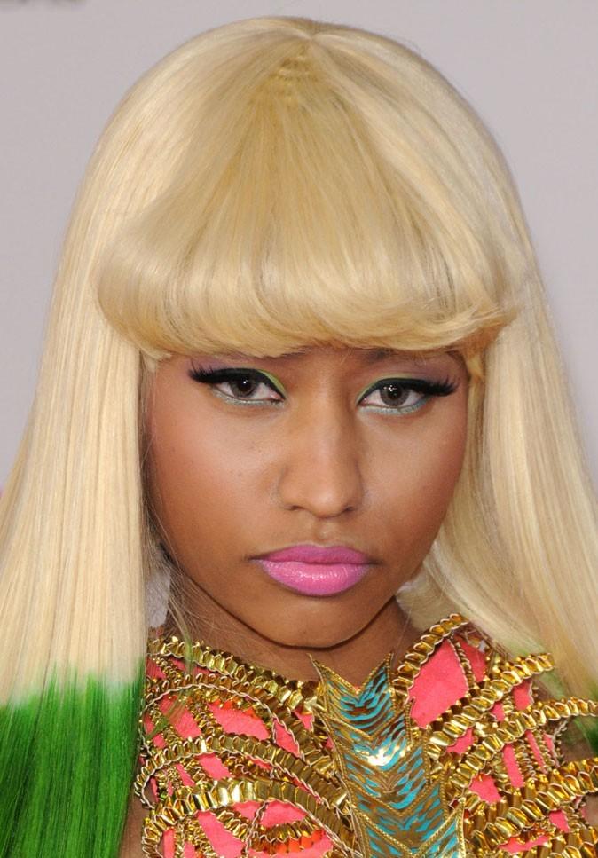 Maquillage de Nicki Minaj : un eye liner vert
