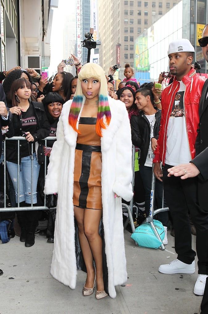 On vous l'avait dit, Nicki est un véritable arc-en-ciel !
