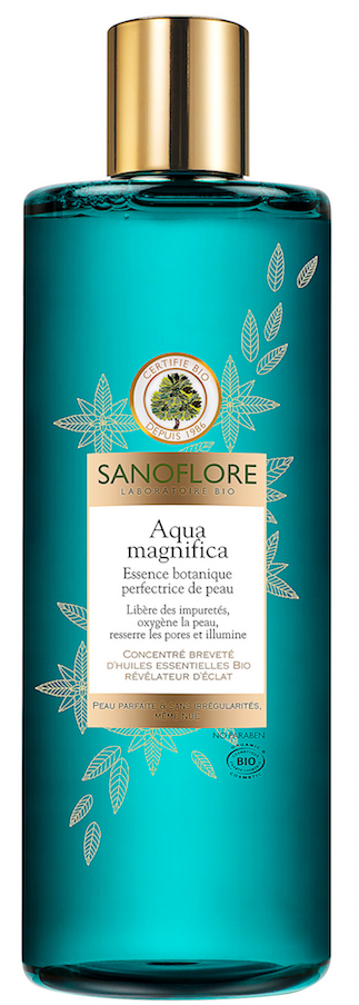Lotion perfectrice de peau, Aqua magnifca, Sanofore 16€