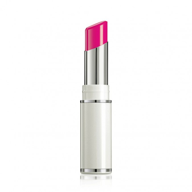 Fashionista à New York : Rouge à lèvres brillance Électrisante, Shine lover, lancôme 24,95 €